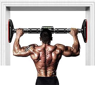 DOS ON Barra de dominadas de 150 kg para puerta de casa, equipo de fitness telescópico, dominadas de fitness interior, bar...