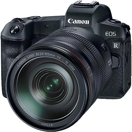 Canon EOS R Mirrorless Full Frame w/RF 24-105mm F4 L IS USM Lens Kit - Vlogging Camera 4K, Content Creator Camera, Wi-Fi, 30.3 MP Full-Frame CMOS Sensor, Dual Pixel CMOS AF (Body + Lens)