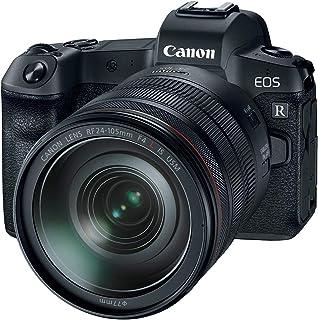 Canon EOS R With RF 24-105mm F4L IS USM Lens, Digital Full Frame Mirrorless Camera - Black
