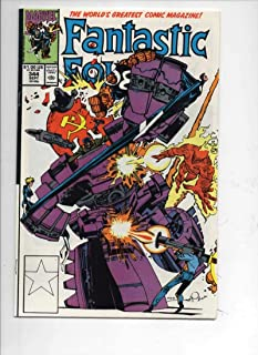 FANTASTIC FOUR #344 VF/NM Nuke Busters, 1961 1990 Marvel, more FF in store