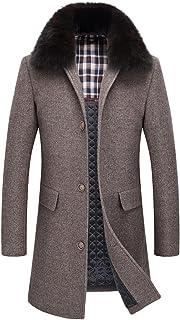 9e22700003 Amazon.it: collo pelliccia uomo - Cappotti / Giacche e cappotti ...
