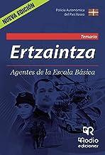 Ertzaintza.  Agentes de la Escala Básica. Temario