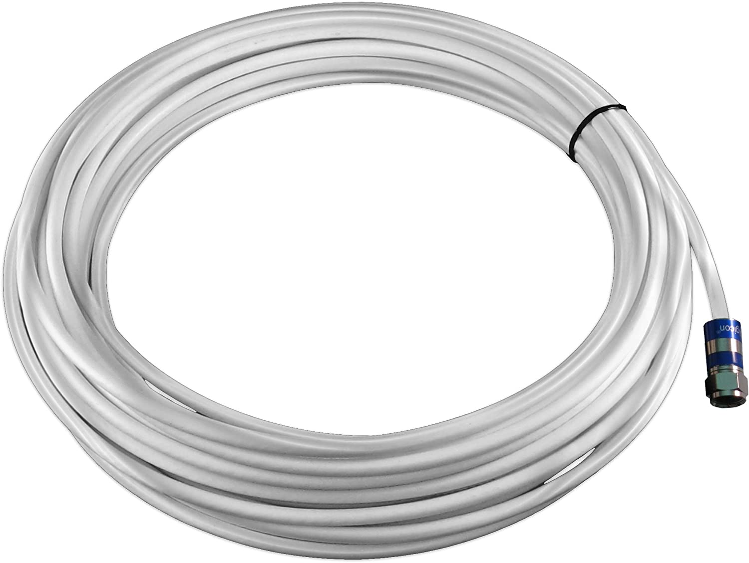 15 Feet zBoost YX030-15W RG-6 Coaxial Extension Cable with Female Connectors
