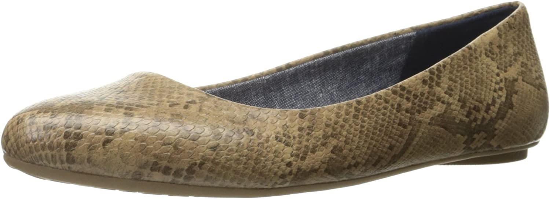 Dr. Scholl's Women's Really Flat, Stucco Opel Snake, 6 M US