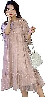 فساتين مضادة للإشعاع ملابس الحمل للنساء الحوامل تنورة علوية 5G EMF حماية درع طبقة مزدوجة، XXL