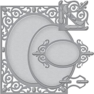 Spellbinders S5-177 Amazing Paper Grace A2 Filigree Delight Card Creator Etched/Wafer Thin Dies