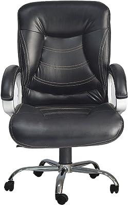 UNiCOS Cobra Medium Back Office Chair with Chrome Base (Black)