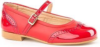 ffa71c2f Zapatos Merceditas Charol+Napa para Niñas Todo Piel Angelitos mod.1526. Calzado  Infantil