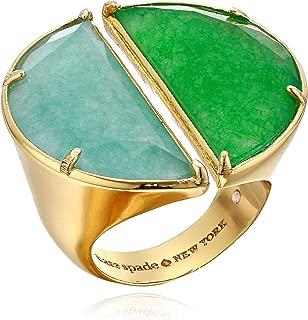 Kate Spade New York Women's Half Moon Split Scallop Statement Ring