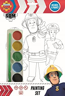 Fireman Sam Painting Set