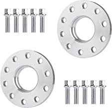 ECCPP 5 Lug Wheel Spacers 5x130mm 2X 15mm 5x130 to 5x130 71.6mm fits for 2010-2016 Porsche Cayenne Boxster Cayman Panamera 1999-2015 Porsche 911 with 14x1.5 Studs