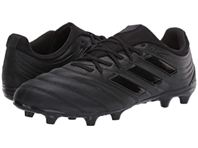 adidas Copa 20.3 FG (Core Black/Core Black/Dark Grey Heather Solid Grey) Men