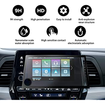 PcProfessional Screen Protector Set of 2 for 2019 Honda Insight 8 HondaLink Infotainment Touch Screen Display High Definition Anti Scratch Filters UV