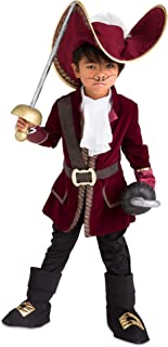 Captain Hook Costume for Kids - Peter Pan Red
