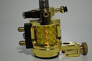 1TattooWorld Premium Handmaded Rotary Tattoo Machine, Gold, OTW-MD1-1