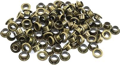 RuiLing Œillets métalliques ronds à trou intérieur pour bricolage de rivets en cuir Accessoires pour chaussures Ceinture S...