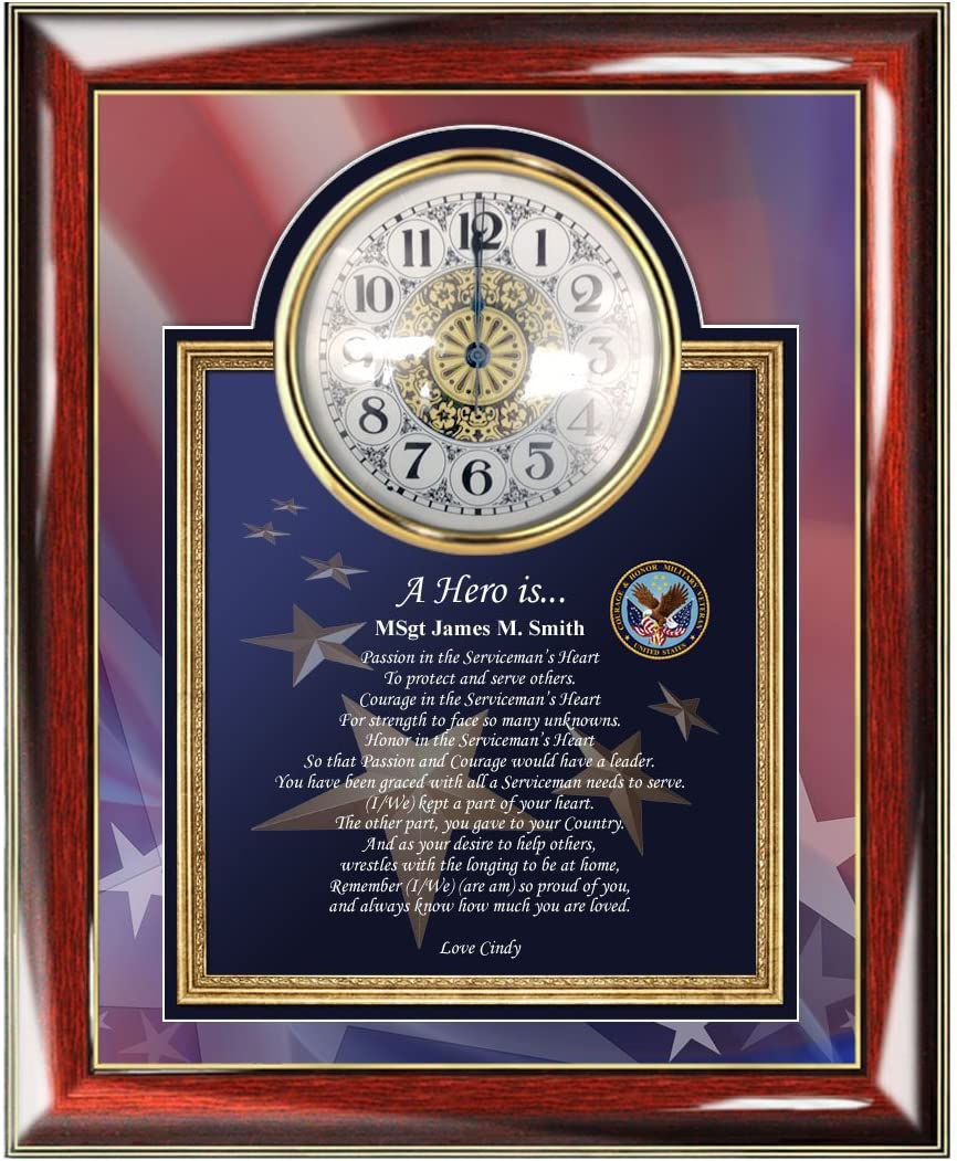 AllGiftFrames Military New Orleans Mall Retirement Gift Service Sales for sale Award Personalize