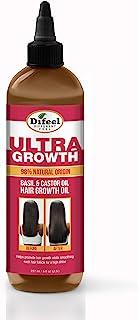 Difeel Ultra Growth Basil & Castor Hair Growth Oil 8 oz.