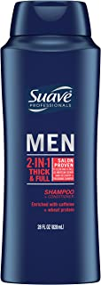 Suave Men 2 in 1 Shampoo and Conditioner Thick & Full 28 oz