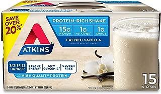 Atkins French Vanilla Ready to Drink Shake (15 pk.)