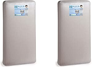 Sealy Baby & Toddler Waterproof Crib Mattress w/Hypoallergenic Cushion (2 Pack)