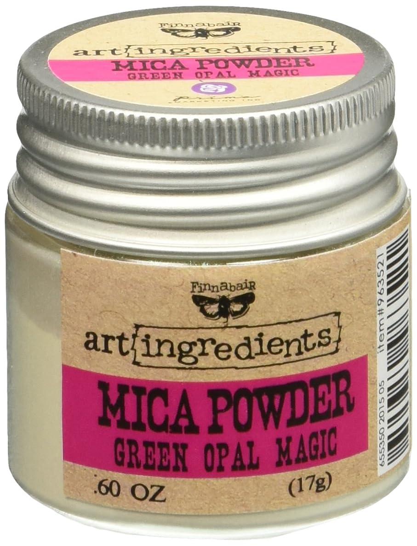 Prima Marketing 963521 Finnabair Art Ingredients Mica Powder, 0.6 oz, Iridescent Green