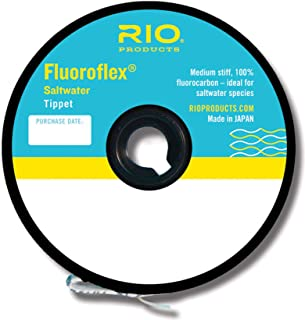 Rio Fly Fishing Tippet Saltwater Tippet 30yd 40Lb Fishing Tackle, Clear