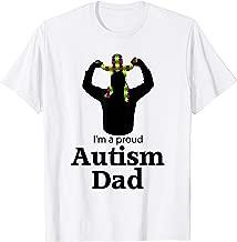I'm A Proud Autism Dad Shirt   Autism Awareness Gifts Tee