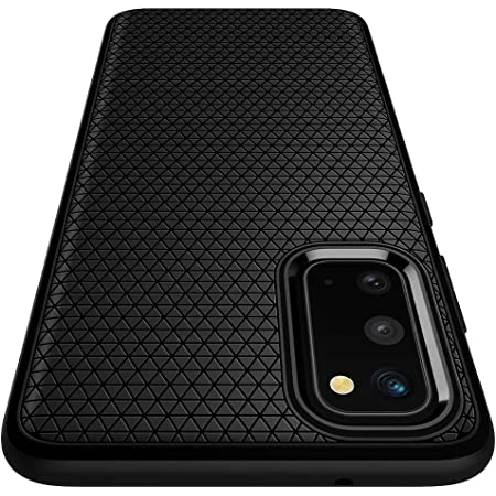 Spigen Liquid Air Armor Designed for Samsung Galaxy S20 Case (2020) - Matte Black