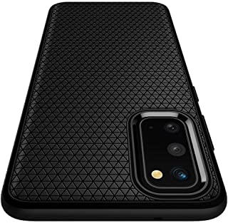 Spigen Liquid Air ACS00791 Mobile Phone Case Compatible with Samsung Galaxy S20 Stylish Pattern Silicone TPU Soft Mobile P...