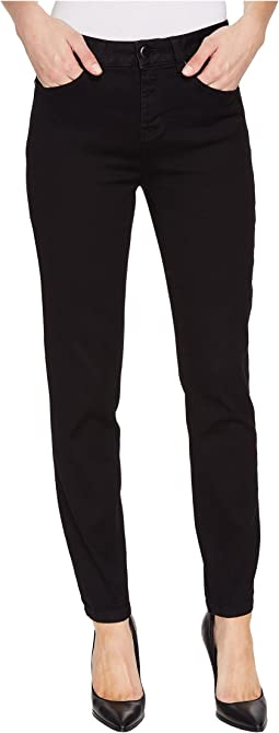 "Five-Pocket Ankle Jegging 28"" Dream Jeans in Black"