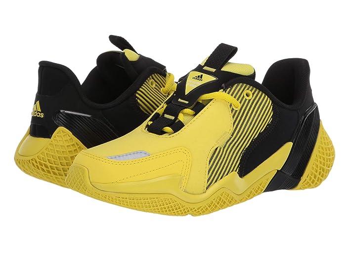 adidas Kids  4uture Rnr (Big Kid) (Black/Shock Yellow) Boys Shoes