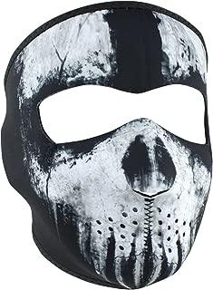 Zanheadgear WNFM409 Skull Ghost Adult/Unisex Neoprene Full Mask