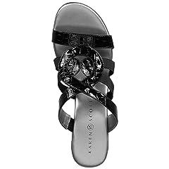 07b14a2fef6 Karen Scott Womens Emmeer Open Toe Casual Slide Sandals