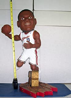 2003 18 INCH LEBRON JAMES ROOKIE BOBBLEHEAD CAVALIERS NEW IN BOX 76 OF 100 MINT