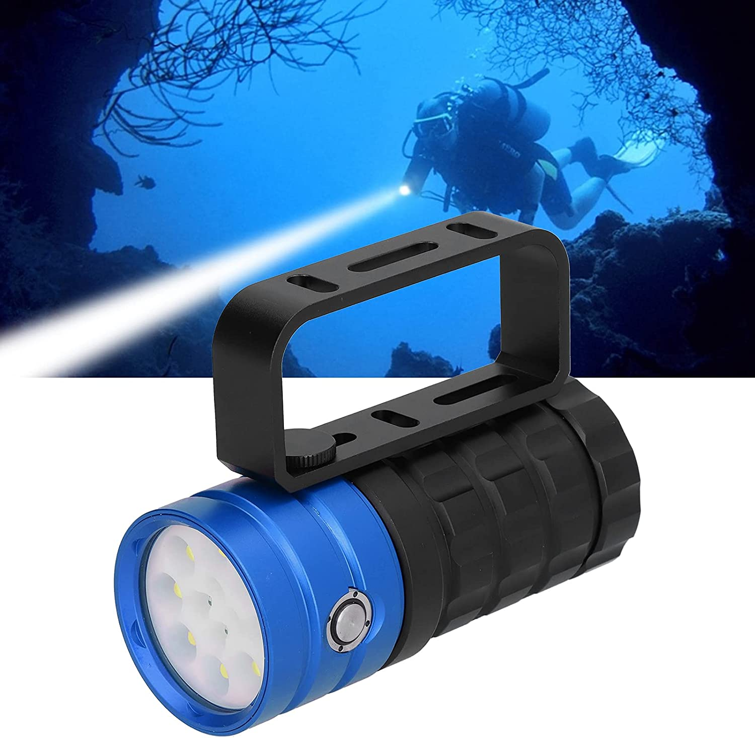 Underwater Max 45% OFF Flashlight Durable ! Super beauty product restock quality top! Diving Torch 10000LM for Un 12LED