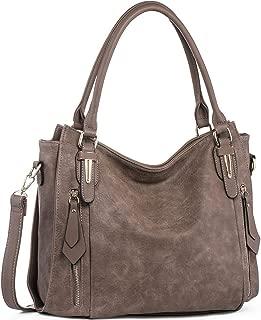 Handbags for Women Shoulder Tote Zipper Purse PU Leather...