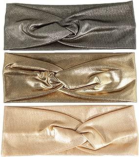 Fashion Gold system Bow Headband Hairband,Elasticity Headband,Gold Bow Hair Bands.