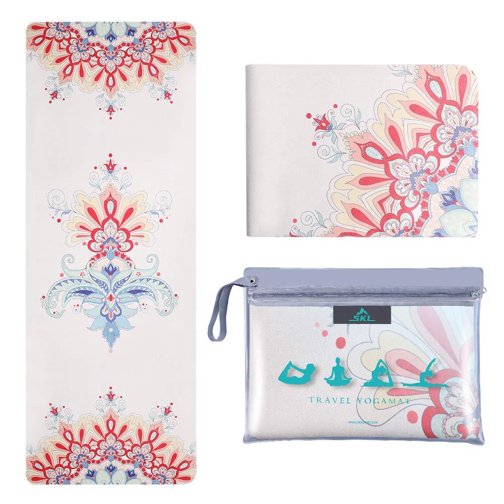 SKL Travel Yoga Mat Absorbent