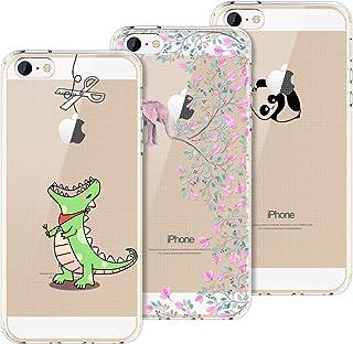 Amazon.it: cover iphone 5s trasparente disegno: Elettronica