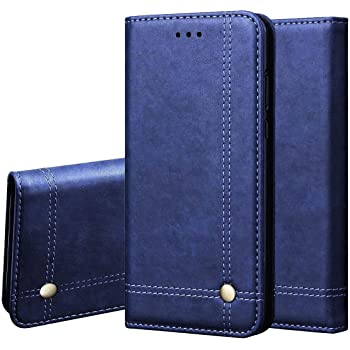 Pikkme Vivo S1 Pro Leather Flip Cover Wallet Case for Vivo S1 Pro (Blue)