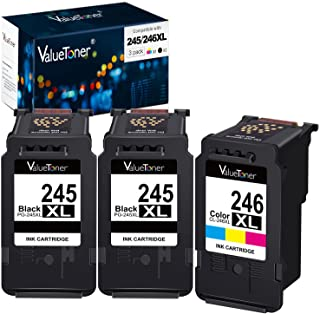Valuetoner Remanufactured Ink Cartridge Replacement for Canon Pg-245Xl Cl-246Xl PG-243 CL-244 to use with Pixma MX492 MX49...