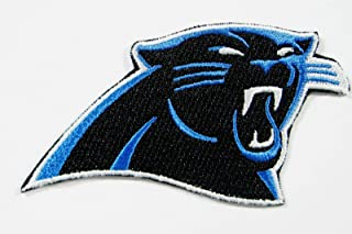 NFL North Carolina Panthers Embroidered Logo Patch 3 1/2