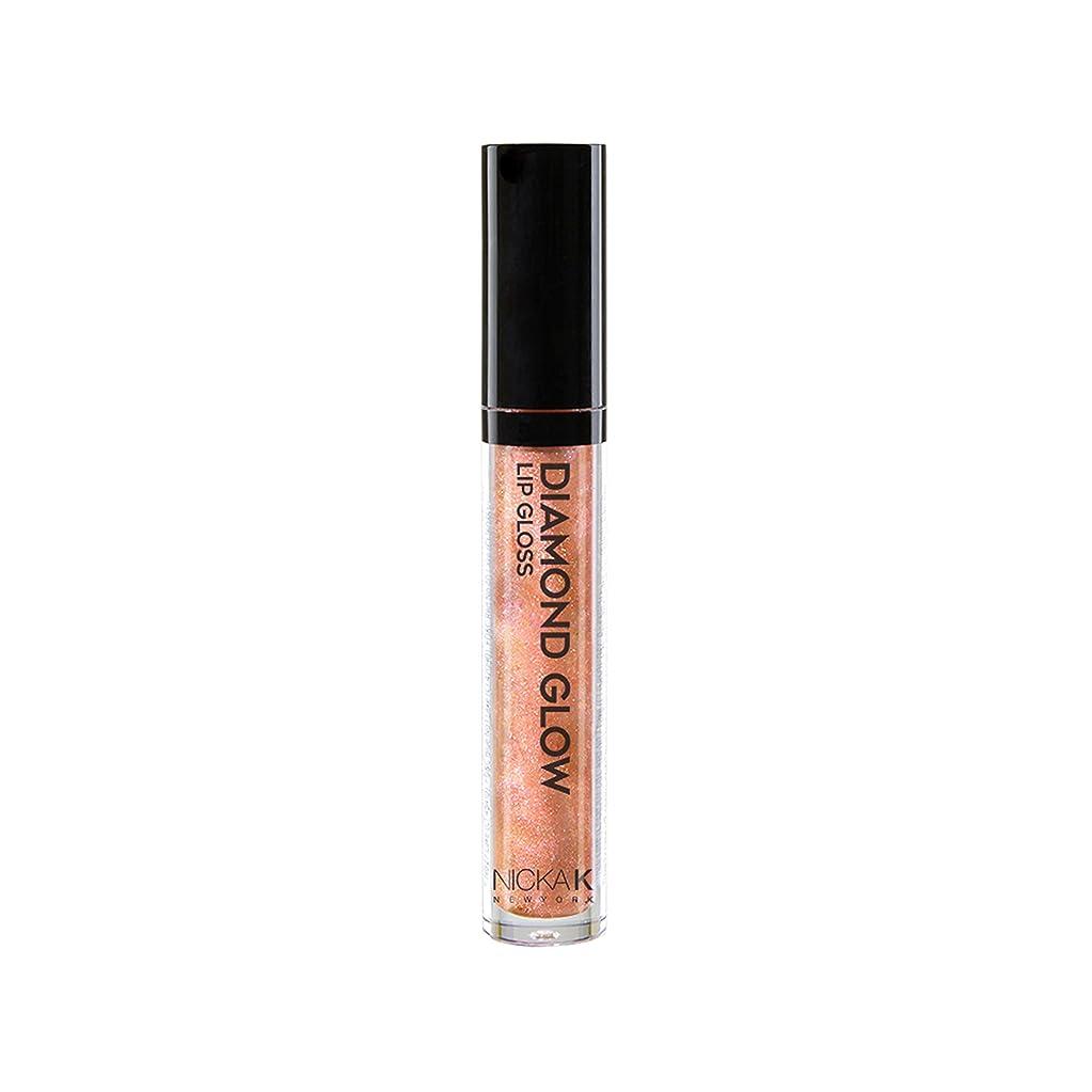 絶縁する最小化する優れたNICKA K Diamond Glow Lip Gloss - Grand (並行輸入品)