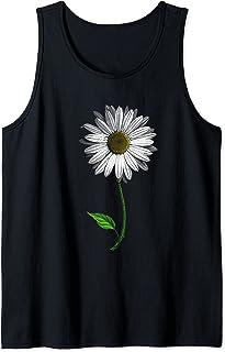 L'amoureux des marguerites aime les fleurs blanches Fleurs Débardeur