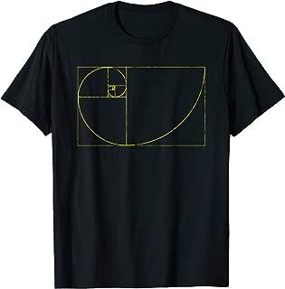 Golden Ratio Fibonacci Spiral Pi T-Shirt