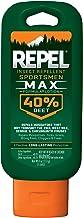 Repel Insect Repellent Sportsmen Max Formula Lotion 40% DEET, 4-Ounce