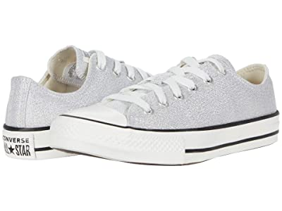 Converse Kids Chuck Taylor(r) All Star(r) Summer Sparkle Ox (Little Kid/Big Kid) (Photon Dust/Natural Ivory/Vintage) Girl