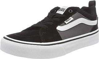 Filmore Suede/Canvas, Unisex Sneaker, Black (Wall), (34 EU AE)