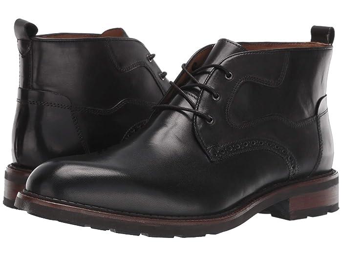 JandM EST. 1850  Fullerton Chukka (Black) Mens Lace-up Boots